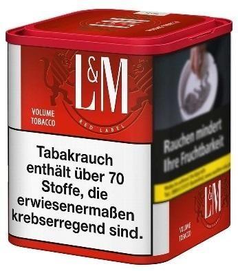 L&M Red Tabak 95g Dose (Stopftabak / Volumentabak)