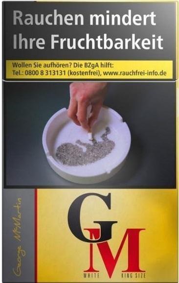 George McMartin Gold (Stange / 10x20 Zigaretten)