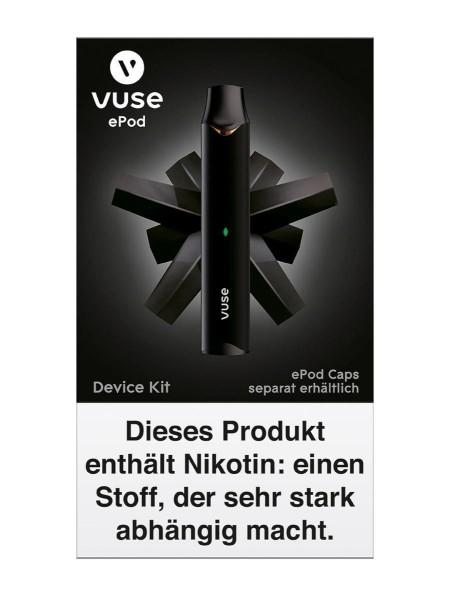 Vuse (Vype) ePod Device Kit Schwarz