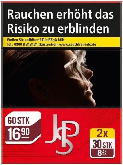 John Player JPS Red Zigaretten Duopack (2x30 Stück)