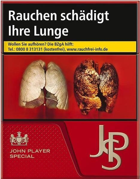 John Player JPS Red (Stange / 6x34 Zigaretten)