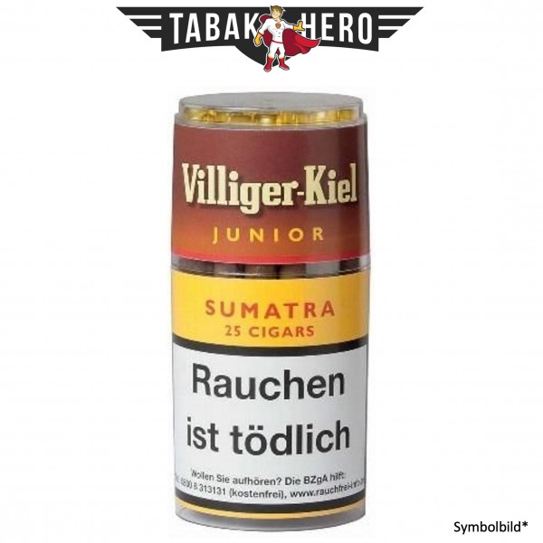 Villiger Kiel Junior Sumatra (4x25 Zigarillos)