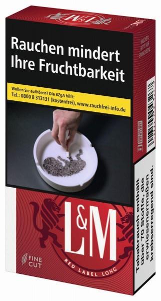 L&M Red Long (Stange / 10x20 Zigaretten)