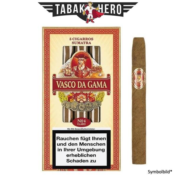 Vasco Da Gama Cigarros Sumatra No.4 (5x5 Zigarillos)