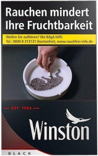 Winston Black (Stange / 10x20 Zigaretten)
