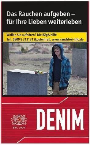 Denim Red XL (Burton Value) (Stange / 8x25 Zigaretten)