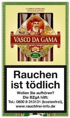Vasco Da Gama 920 Brasil No-2 (10x5 Zigarren)