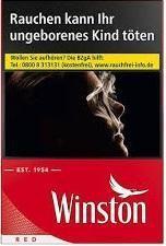 Winston Red (Stange / 10x22 Zigaretten)
