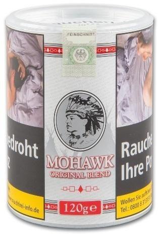 Mohawk Original Blend Tabak 120g Dose (Drehtabak / Feinschnitt)
