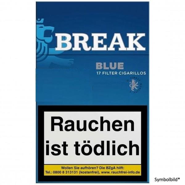 Break Blue Filtercigarillo (17 Zigarillos)