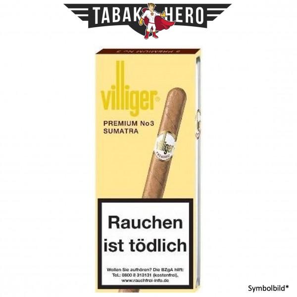 Villiger Premium No3 Sumatra (5x5 Zigarillos)