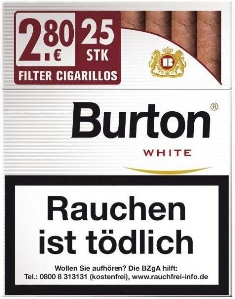 Burton White XL (25 Zigarillos)