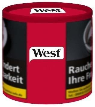 West Red Tabak 42g Dose (Stopftabak / Volumentabak)