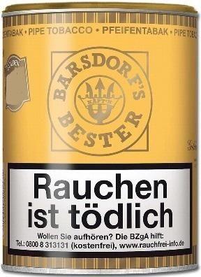 Käpt'n Barsdorf Bester Gold (Honey & Rum) Tabak 160g Dose (Pfeifentabak)