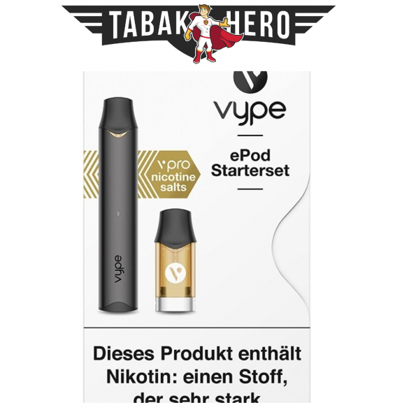 Vuse (Vype) ePod Starterset mit ePod Cap Mango 18mg