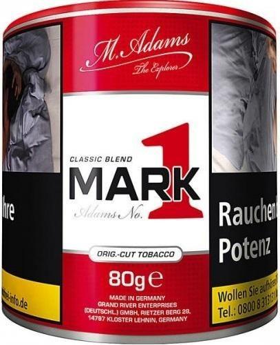Mark Adams No1 Classic Tabak 80g Dose (Drehtabak / Feinschnitt)