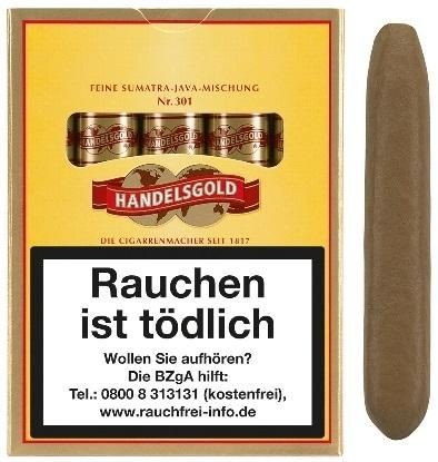 Handelsgold 301 Sumatra (10 x 5 Zigarren)