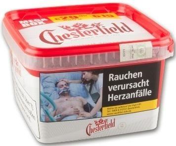 Chesterfield Red Mega Tabak 170g Eimer (Stopftabak / Volumentabak)