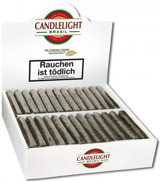 Candlelight Corona Brasil 100er (100 Zigarren)