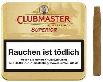 Clubmaster Gold Sum 161 (10 x 20 Zigarillos)