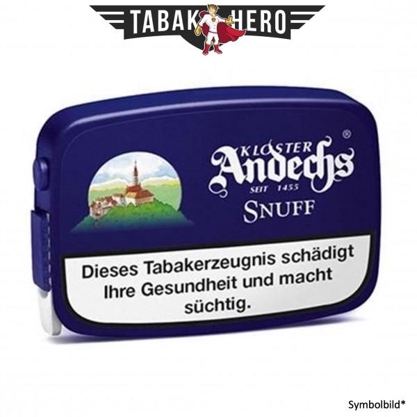 10x Kloster Andechs Snuff Schnupftabak 10g