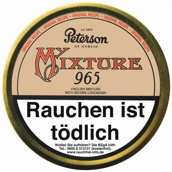 Peterson My Mixture 965 Tabak 50g (Pfeifentabak)