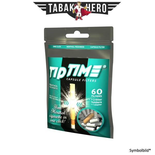 Tip Time Kapselfilter Menthol 60 Filter, Adapter+ 2 Filterspitzen