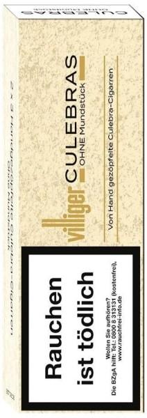 Villiger Culebras ohne Mundstück (6 Zigarillos)