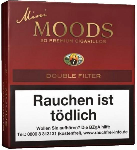 Dannemann Moods Mini Double Filter (10 x 20 Zigarillos)