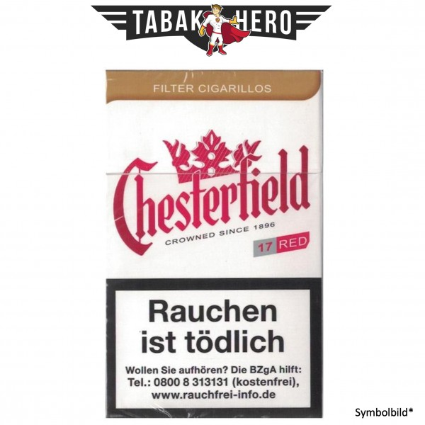 Chesterfield Red KS (17 Zigarillos)