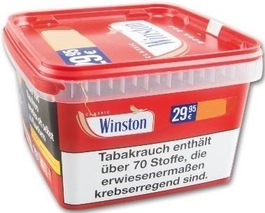 AKTION! Winston Red Megabox Tabak 170g Eimer (Stopftabak / Volumentabak)