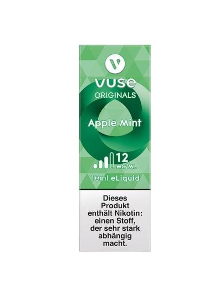 4 x Vuse (Vype) eLiquid Bottle Apple Mint 12mg