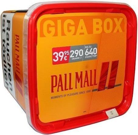 Pall Mall Allround Red Giga Box Tabak 280g Eimer (Stopftabak / Volumentabak)