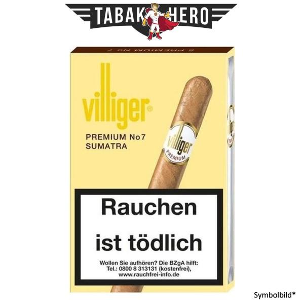 Villiger Premium No7 Sumatra (5x5 Zigarren)