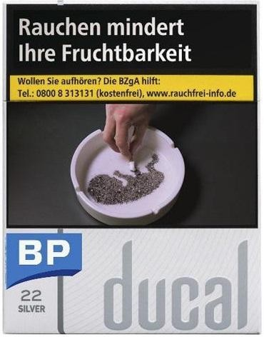 Ducal Silver Zigaretten (22 Stück)