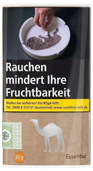 Camel Essential Tabak 30g Pouch (Drehtabak / Feinschnitt)