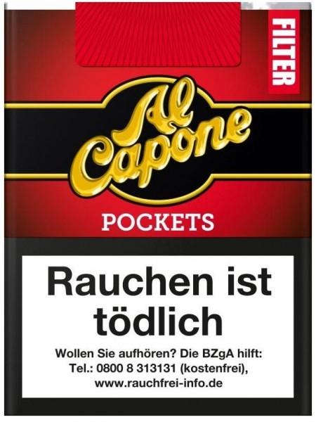 Al Capone Pocket Red Filter 18 (10 x 18 Zigarillos)