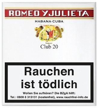 Romeo Y Julieta Club (5x20 Zigarillos)