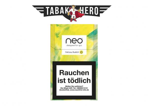 neo Sticks Yellow Switch für Glo Tabakerhitzer - Tabaksticks
