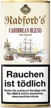 5x Radford`s Caribbean Blend Tabak 50g Pouch (Pfeifentabak)