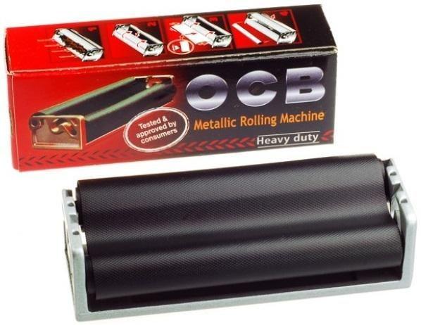 OCB Rolleur Metall Zigarettenstopfmaschine, Stopfer, Stopfmaschine