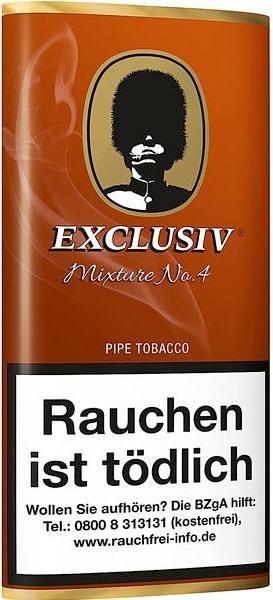 Exclusiv Mixture No.4 (Cavendish) Tabak 50g Pouch (Pfeifentabak)