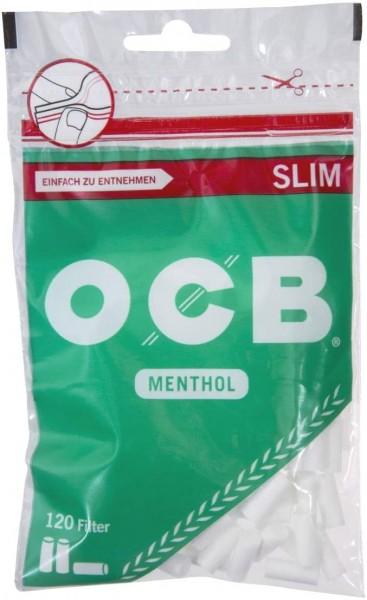 10 x 120 Stück OCB Filter Drehfilter Slim Menthol
